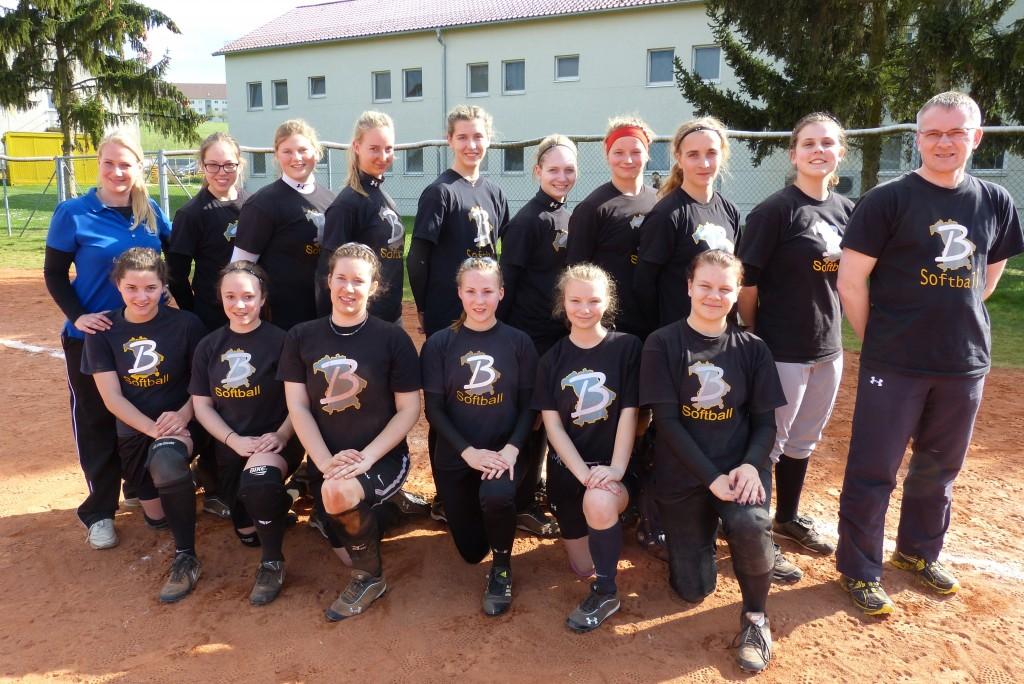 2014 BBSV U19 Auswahl Team